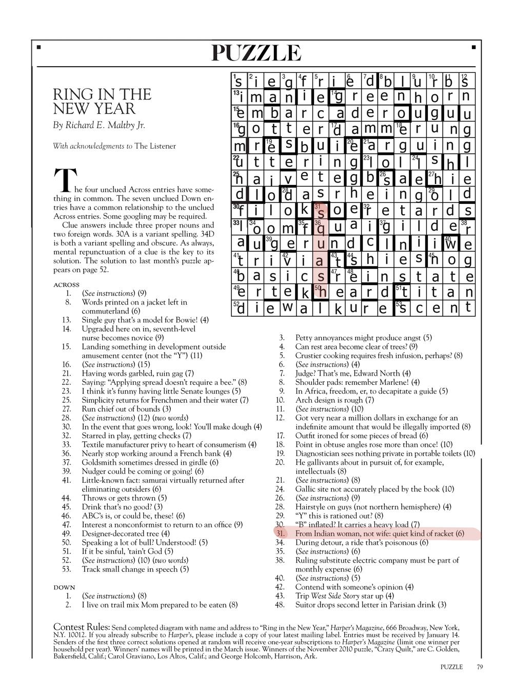 how to read cryptic clues