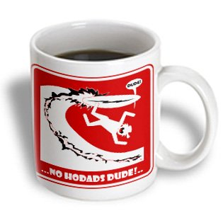 coffee mug reads '...NO HODADS DUDE!..' | Tacky Harper's Cryptic Clues