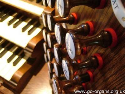 Organ stop