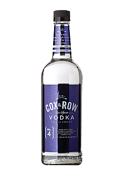 Cow + Row vodka