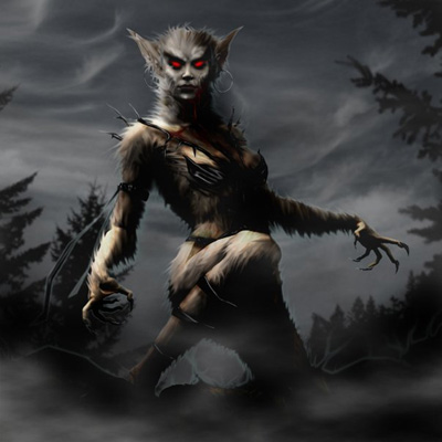 Woman Werewolf
