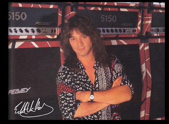 Eddie Van Halen | Peavey | Tacky Harper's Cryptic Clues