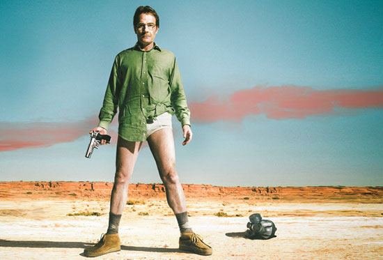 Bryan Cranston underwear | Breaking Bad | Tacky Harper's Cryptic Clues