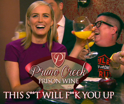 Prison Hooch | Pruno Creek Prison Wine | This S**t Will F**k You Up