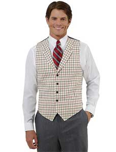 Mens vests (timeless) | Tacky Harper's Cryptic Clues