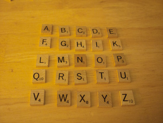 Scrabble | Tacky Harper's Cryptic Clues