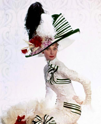 Audrey Hepburn as Eliza Doolittle | Tacky Harper's Cryptic Clues