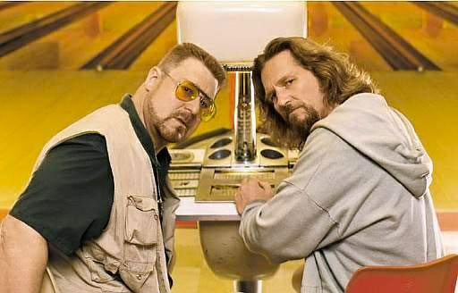 Walter and The Dude | The Big Lebowski | Tacky Harper's Cryptic Clues