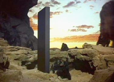 The monolith in 2001: A Space Odyssey | Tacky Harper's Cryptic Clues