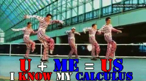 I know my Calculus | You + Me = US | Tacky Harper's Cryptic Clues
