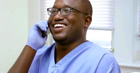 Hannibal Buress plays a dentist on Broad City | Tacky Harper's Cryptic Clues