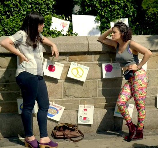 Broad City | fanny pack | Tacky Harper's Cryptic Clues