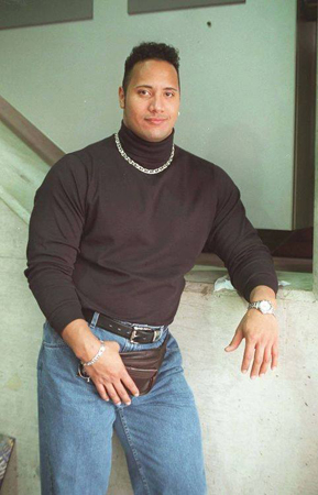 Dwayne Johnson | The Rock | fannypack | Tacky Harper's Cryptic Clues