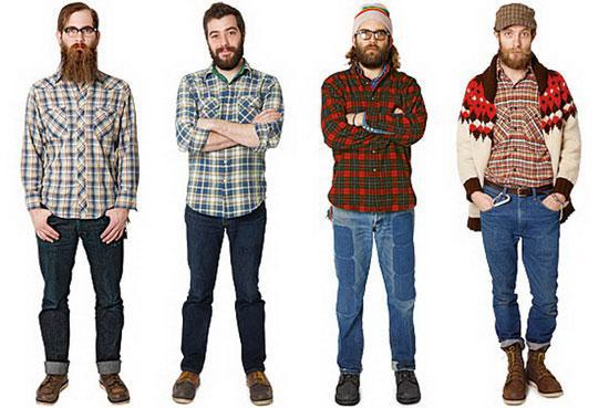 Hipster on the right | Tacky Harper's Cryptic Clues
