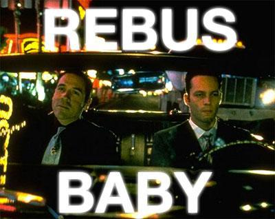 Rebus, baby | Swingers | Tacky Harper's Cryptic Clues
