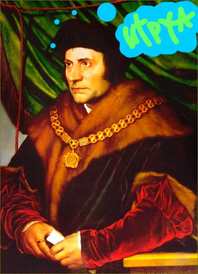 Sir Thomas More | Tacky Harper's Cryptic Clues