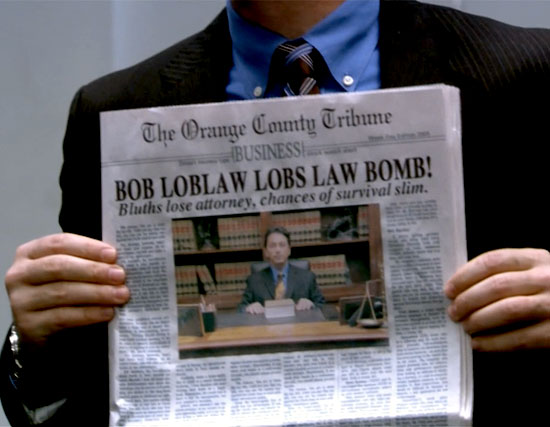 Headline: Bob Loblaw Lobs Law Bomb! | Tacky Harper's Cryptic Clues