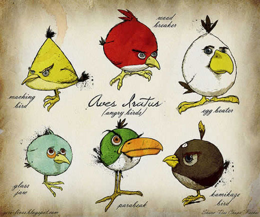 Angry Birds fan art | DesignInc | Tacky Harper's Cryptic Clues