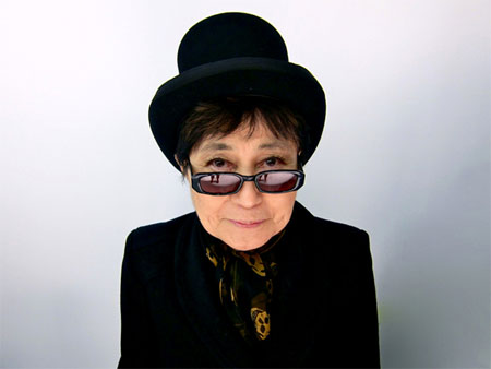 Yoko Ono | Tacky Harper's Cryptic Clues