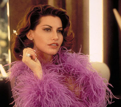 Gina Gershon as Cristal Connors in Showgirls | Tacky Harper's Cryptic Clues