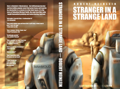 Stranger in a Strange Land book cover | Tacky Harper's Cryptic Clues