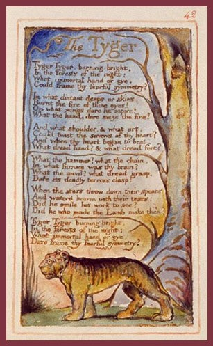 Tyger | William Blake | Tacky Harper's Cryptic Clues