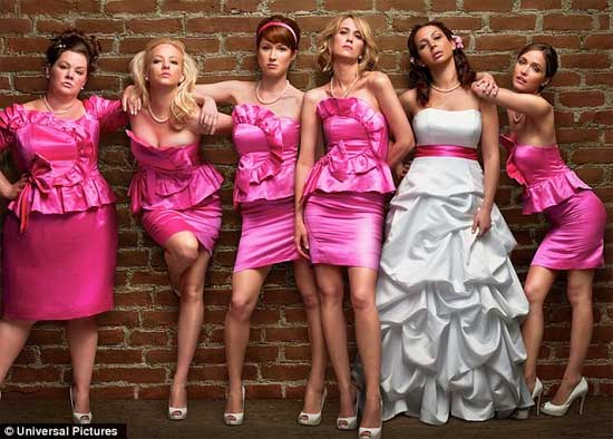 Bridesmaids | img courtesy © Universal Pictures | Tacky Harper's Cryptic Clues