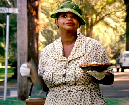 Octavia Spencer | chocolate pie | The Help | Tacky Harper's Cryptic Clues