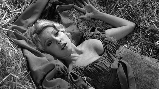 Would you like a roll in ze hay? | Teri Garr as Inga in Young Frankenstein | Tacky Harper's Cryptic Clues